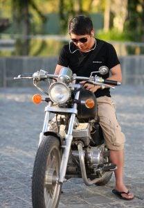 Determinar el culpable de un accidente en moto